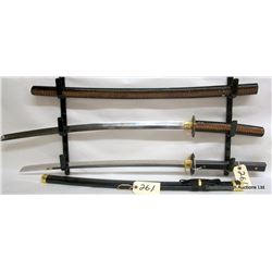 REPLICA SAMARAI SWORDS