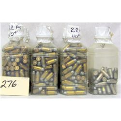 BOX LOT 45 CAL RELOADS, PROJECTILES