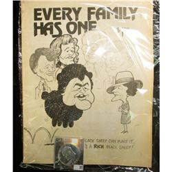 "$1 Priced Collector's Edition Magazine titled ""Every Family Has One or….Even a Black Sheep Can Make"
