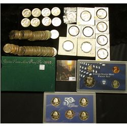(88) Susan B. Anthony Dollars, most of which are BU; 1995 S & 99 S U.S. Proof Sets, original as issu