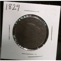 1829 U.S. Large Cent, AG.