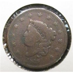 1835 U.S.. Large Cent, Good.