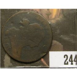 1801 U.S. Large Cent, Rotation Error.