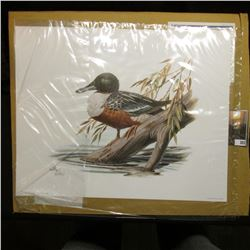 "10.5 x 13"" 1995 Fleetwood Print of an original Painting by Donald Balke, born 1933. Don traveled to"
