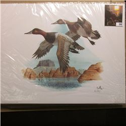 "10.5 x 13"" 1994 Fleetwood Print of an original Painting by Donald Balke, born 1933. Don traveled to"