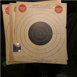 "(20) ""Standard N.R.A. Target For 100 Yard Small Bore Rifle Shooting…Remington UMC""."
