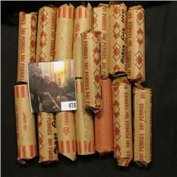 (10) Rolls of Circulated U.S. Memorial Cents, most of which are copper issues; & (5) Rolls of Old U.