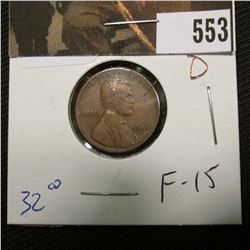 1-1924 D Lincoln Cent F-15