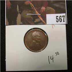 1-1913 Lincoln Cent XF