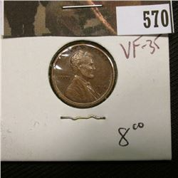 1-1916 S Lincoln Cent VF 35