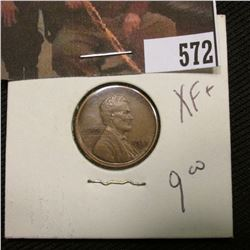 1-1918 S Lincoln Cent XF+
