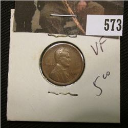 1-1921 S Lincoln Cent VF