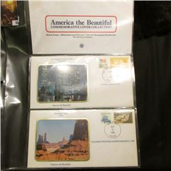 America the Beautiful Commemorative Cover Collection, Los Angeles, Monument Valley