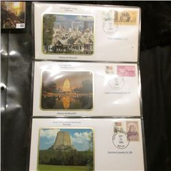 America the Beautiful Commemorative Cover Collection, San Francisco, US Capital, Devils Tower