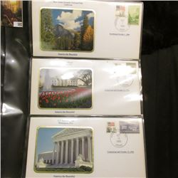 America the Beautiful Commemorative Cover Collection, Yosemite Park, The White House, US Supreme Cou