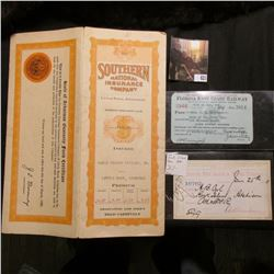 "1946 Pass ""Florida East Coast Railway""; June 25th 1880 ""Chicago, Rock Island & Pacific Railroad…Dave"