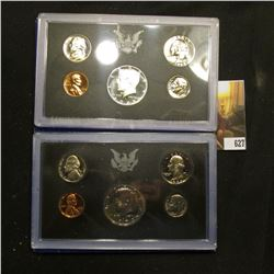 1968 S Silver & 1972 S U.S. Proof Sets in original boxes.
