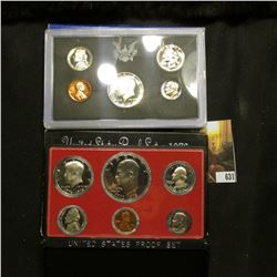1970 S Silver & 1976 S U.S. Proof Sets. Original as issued. The 1970 S Kennedy Half is very nicely C