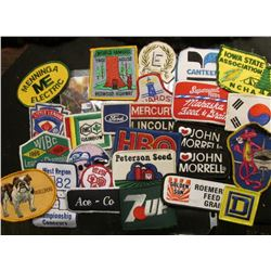 (25) more Different Cloth Embroidered Advertising Patches. This is the beginning of a sale of cloth
