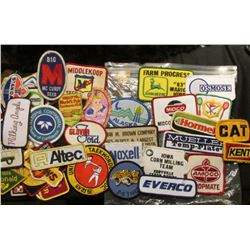 (50) more Different Cloth Embroidered Advertising Patches. This is the beginning of a sale of cloth