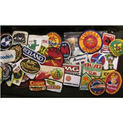 (50) more Different Cloth Embroidered Advertising Patches. Includes an Iowa Conservation Commission