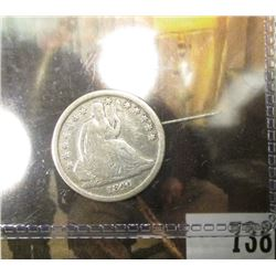 1840 O U.S. Seated Liberty Dime, Very Good.