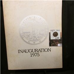 """Inaugural Program The State of Iowa Thursday, January 16, 1975"", Robert D. Ray Governor of the Stat"