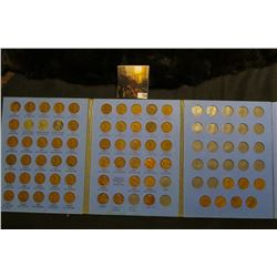 1941-64 Partial Set of Lincoln Cents in a blue Whitman folder.