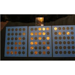 1979-2006 Partial Set of Lincoln Cents in a blue Whitman folder. Many BU.
