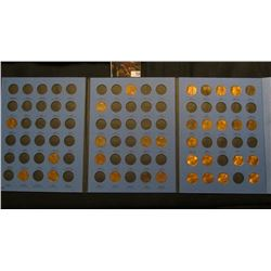 1963-2006 Partial Set of Lincoln Cents in a blue Whitman folder. Many BU.