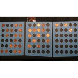 1975-2006 Partial Set of Lincoln Cents in a blue Whitman folder.