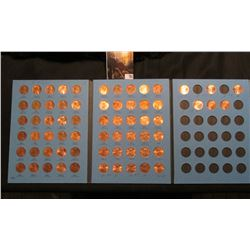 1975-2006 Partial Set of Lincoln Cents in a blue Whitman folder. Many BU.