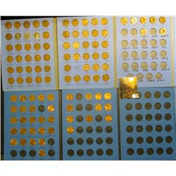 Lincoln Cents 1941-1974 and 1975-2013 (2) Whitman Coin Folders (101) Lincoln Cents. Grades up to BU