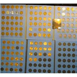 Lincoln Cents 1941-1974 and 1975-2013 (2) Whitman Coin Folders (105) Lincoln Cents. Grades up to BU