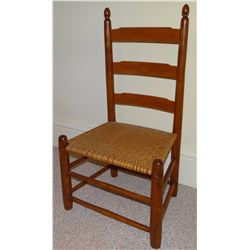 Wicker seat youth  chair