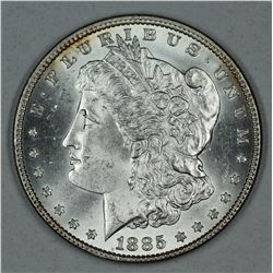 1885 Morgan dollar, MS64