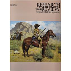 4 items: Research Review, The Journal of the Little Big Horn Associates, Little Big Horn Assoc., 199