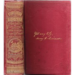 My Story of the War, Four Years Personal Experience, Mary A. Livermore, 1891 Pub. by A. D. Worthingt
