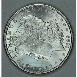 1889 Morgan dollar, MS63
