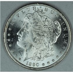 1890 S Morgan dollar, MS64