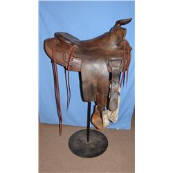 Carl Darr roper saddle, 16""