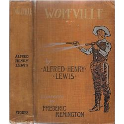 2 books: Wolfville by Alfred Lewis, pub. - Frederick A. Stokes, 1897, illust. by Frederick Remington