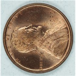 1909 VDB Lincoln Cent MS65RB