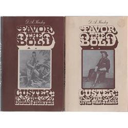 2 books: Favor The Bold, Custer The Civil War Years,D. A. Kelsey, pub. - Promontory Press, 1967, ill