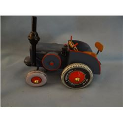 German made tin toy tractor