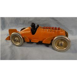 Hubley cast iron race car, 11""