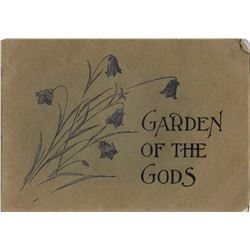 3 books:  Views of the Garden of the Gods, Engravings by Frank Reistle, Paul Goerke & Son 1908, Illu