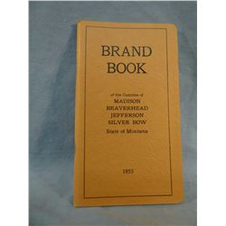 1953 MT Brand book, Madison, Beaverhead, Silverbow counties