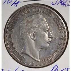 1907A SILVER 5MARKS PRUSSIA GERMANY