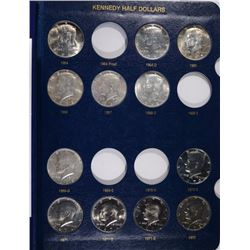 1964-2002 KENNEDY HALF DOLLAR SET